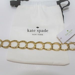 NWT Kate Spade Wild Ones Horseshoe Link Bracelet